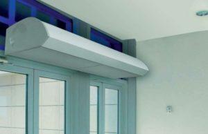 ТОП-7 лучших тепловых завес на входную дверь